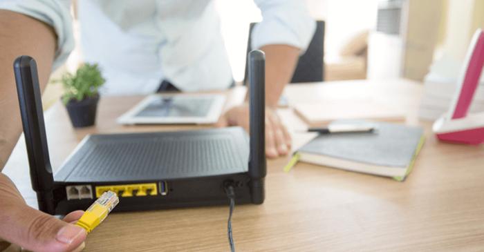 モデムや無線LANを再起動する